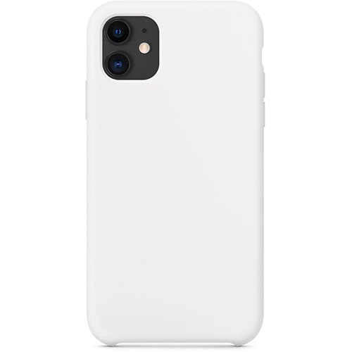 Silicon Case Apple iPhone 11 белый