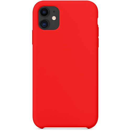Silicon Case Apple iPhone 11 красная роза