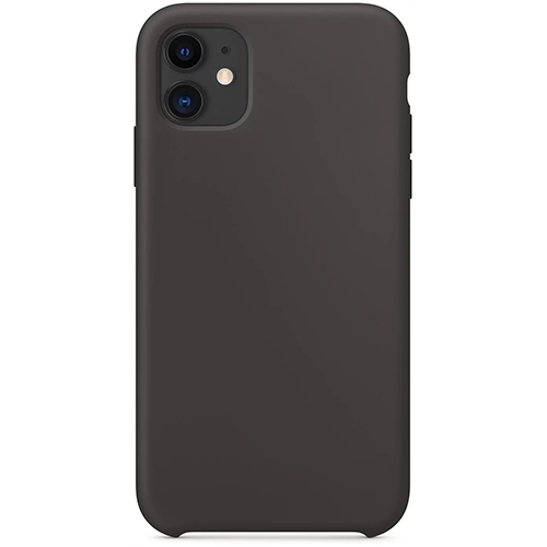 Silicon Case Apple iPhone 11 угольно-серый