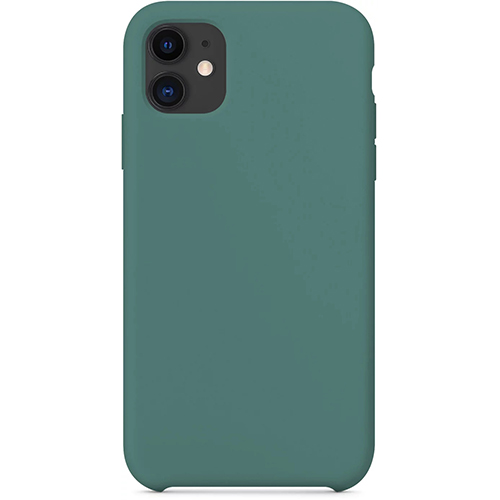 Silicon Case Apple iPhone 11 зелёный