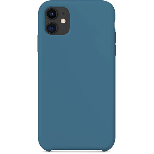 Silicon Case Apple iPhone 11 кобальт