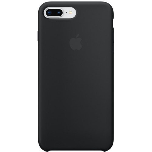 Silicon Case Apple iPhone 7 Plus/8 Plus чёрный