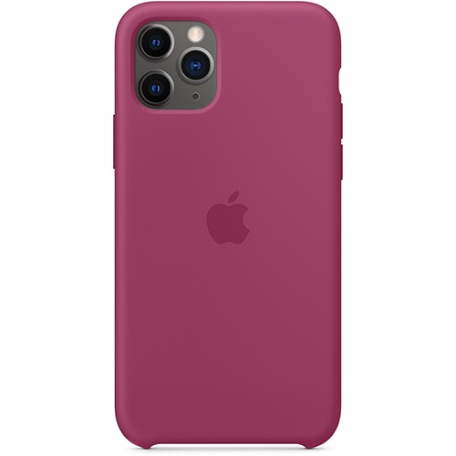 Silicon Case Apple iPhone 11 Pro Max сочный гранат