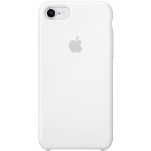 Silicon Case Apple iPhone 7/8 белый
