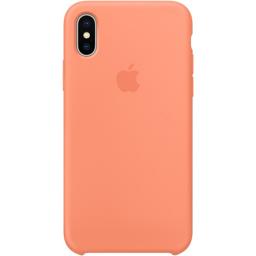 Silicon Case Apple iPhone XS сочный персик