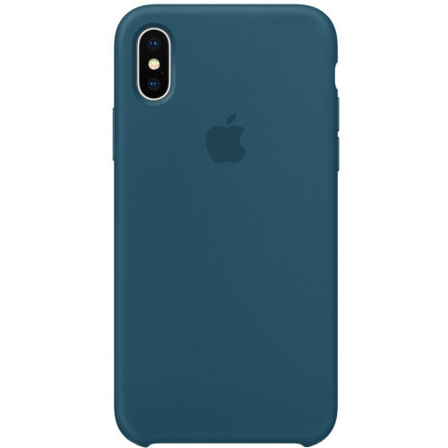 Silicon Case Apple iPhone XS морской лёд