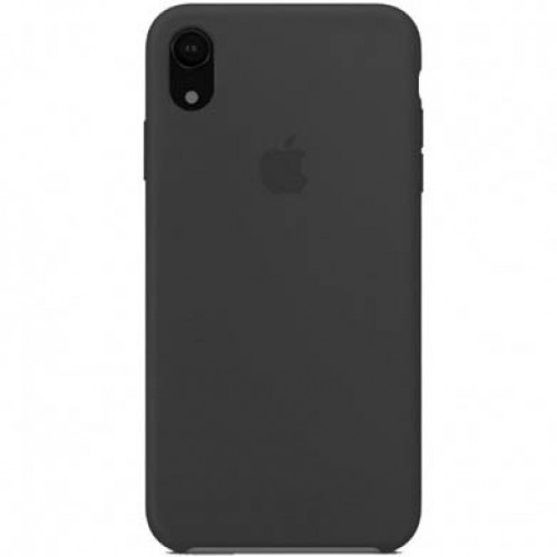 Silicon Case Apple iPhone XR чёрный