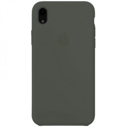 Silicon Case Apple iPhone XR тёмно-оливковый