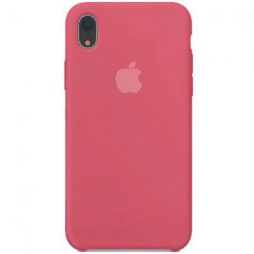 Silicon Case Apple iPhone XR красная малина