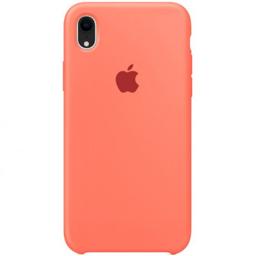 Silicon Case Apple iPhone XR сочный персик