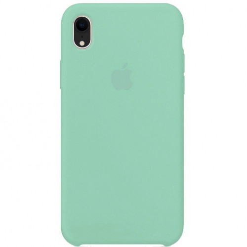 Silicon Case Apple iPhone XR зелёная лагуна