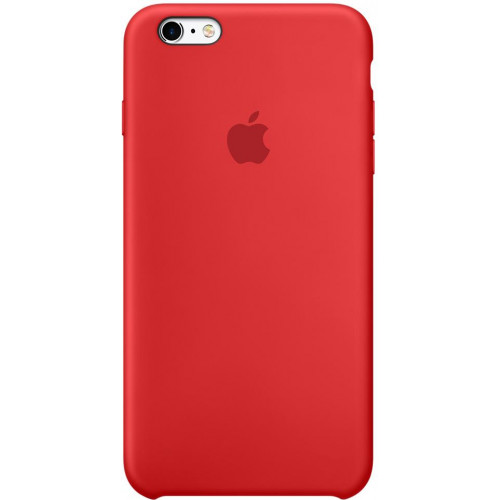 Silicon Case Apple iPhone 6/6S красный